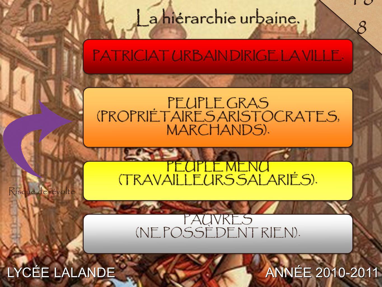 8 LYCÉE LALANDE ANNÉE 2010-2011 205 C / Une culture urbaine spécifique. 8