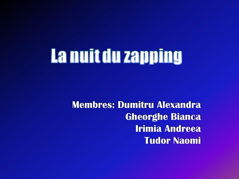 Le but de l'association • Nous sommes l'association La nuit du zapping .
