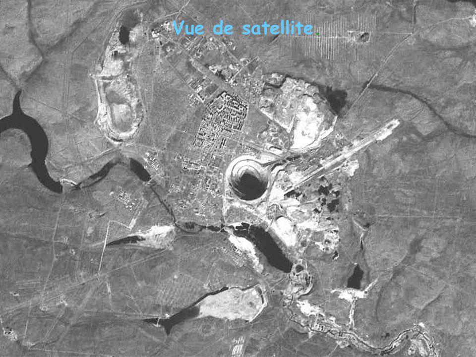 Vue de satellite.