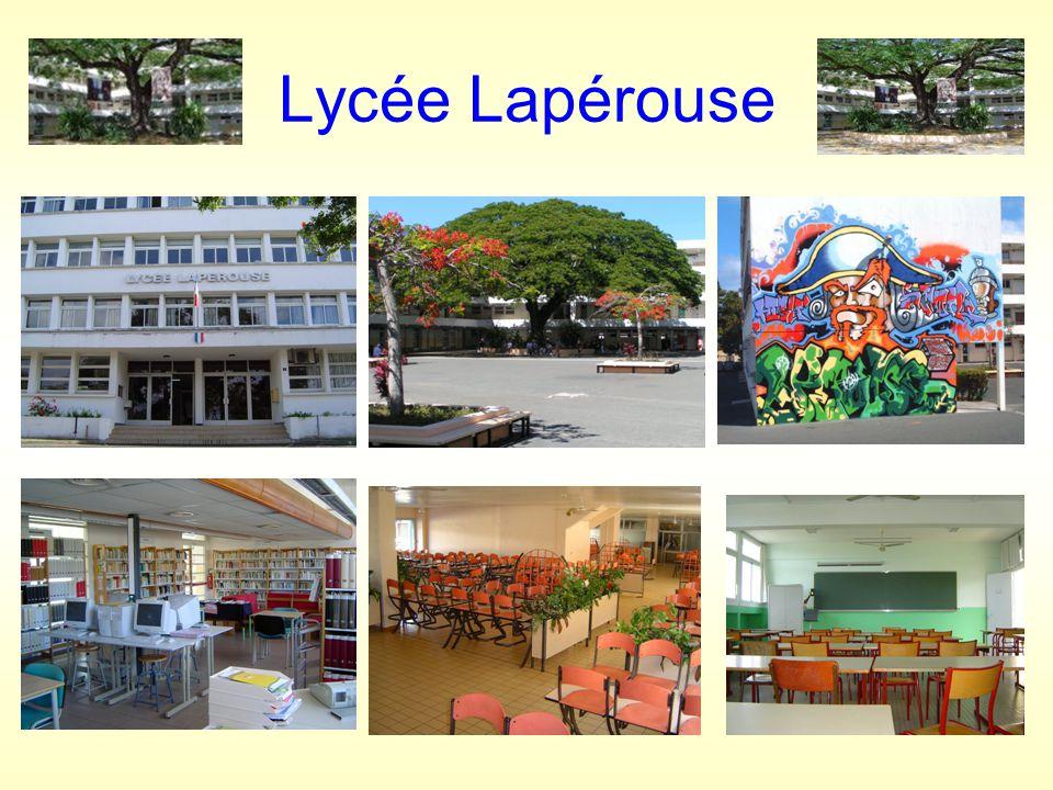LES ENSEIGNEMENTS AU LYCEE LAPEROUSE