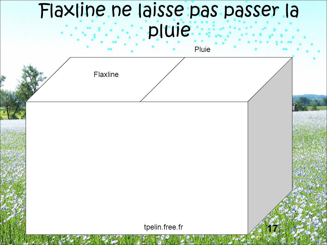 Flaxline Pluie Flaxline ne laisse pas passer la pluie 17 tpelin.free.fr