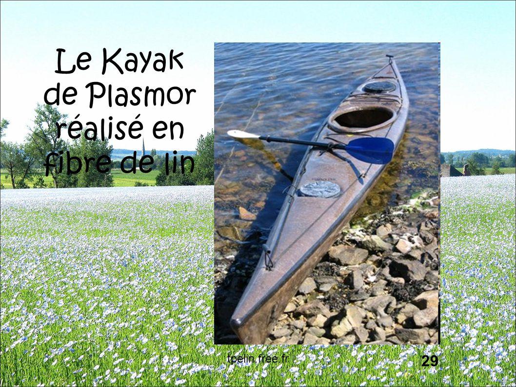 Le Kayak de Plasmor réalisé en fibre de lin 29 tpelin.free.fr