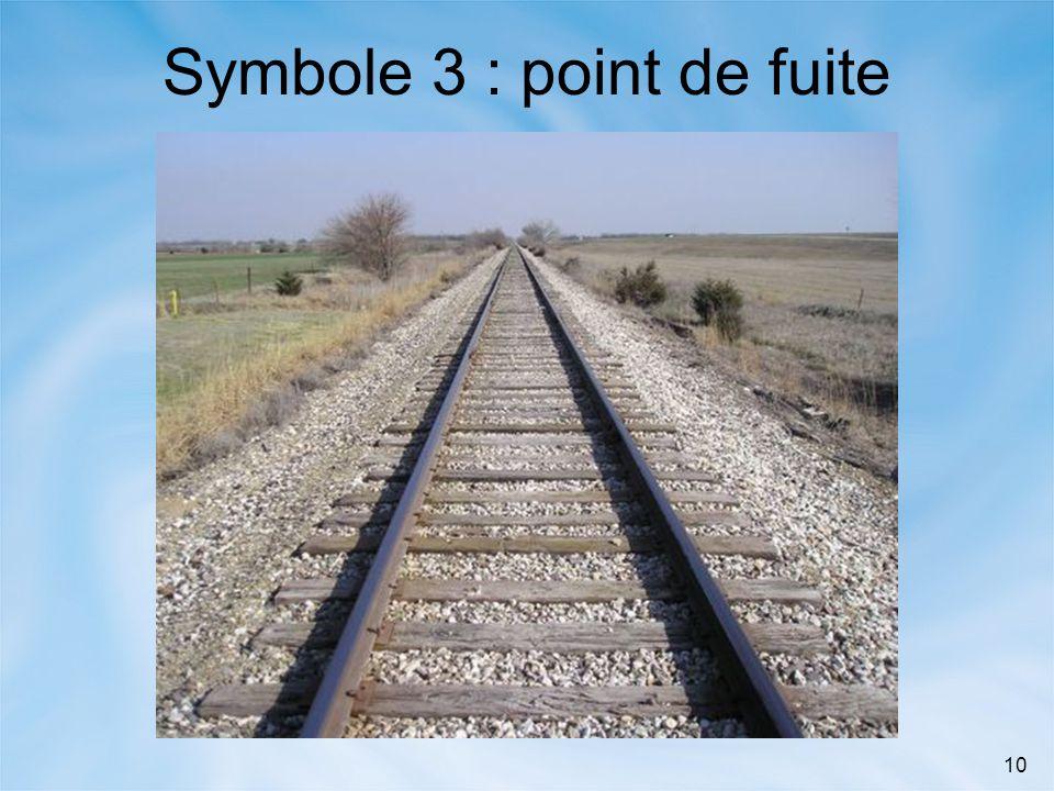 10 Symbole 3 : point de fuite