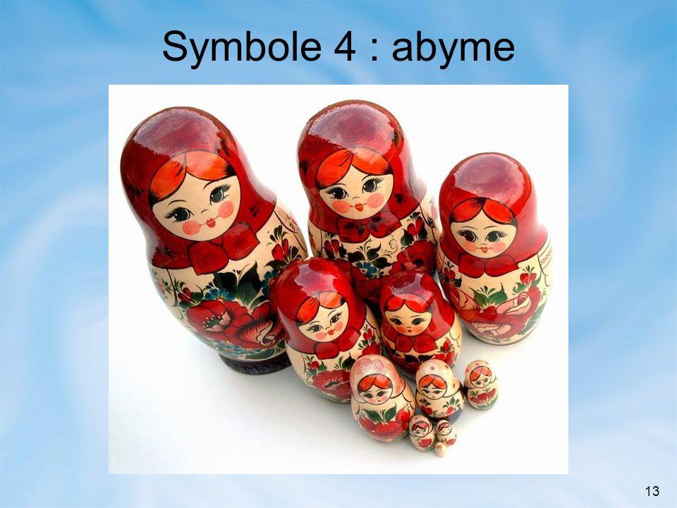 13 Symbole 4 : abyme