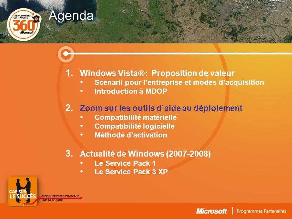 Windows Vista ®- Lever les freins à la migration