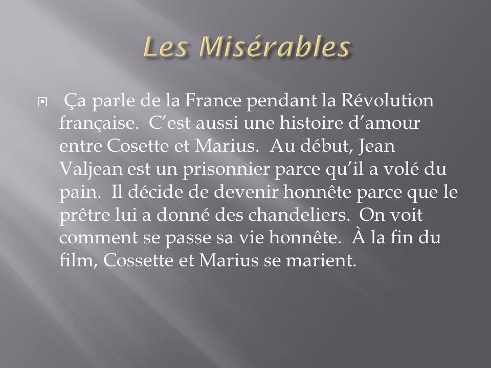  Ça parle de la France pendant la Révolution française.