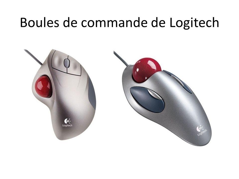 Boules de commande de Logitech