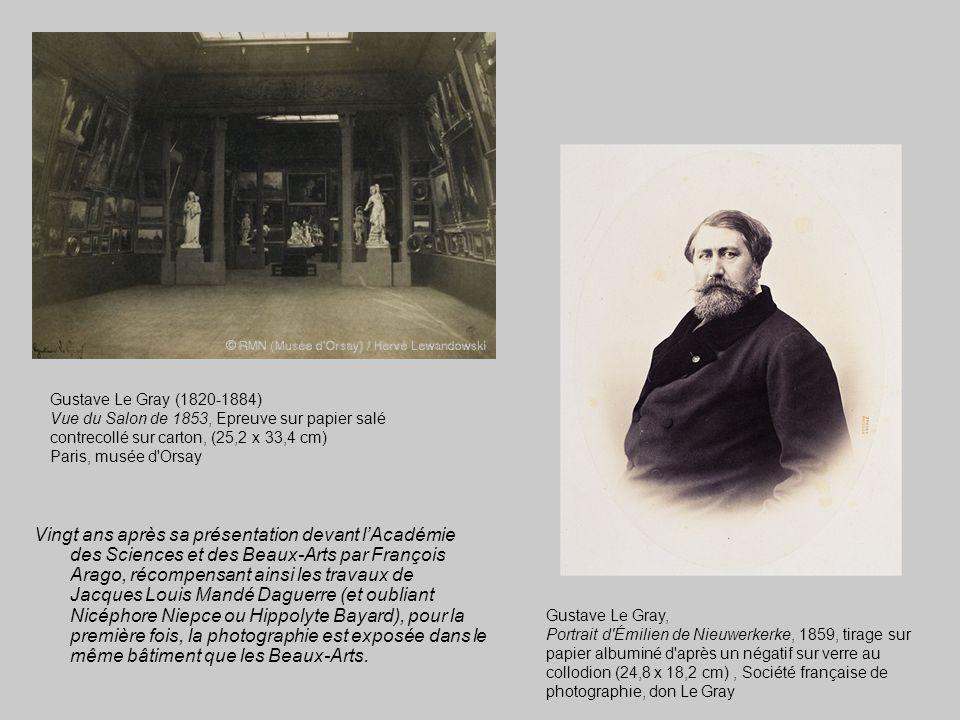 Vingt ans après sa présentation devant l'Académie des Sciences et des Beaux-Arts par François Arago, récompensant ainsi les travaux de Jacques Louis M