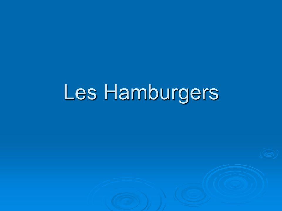 Les Hamburgers
