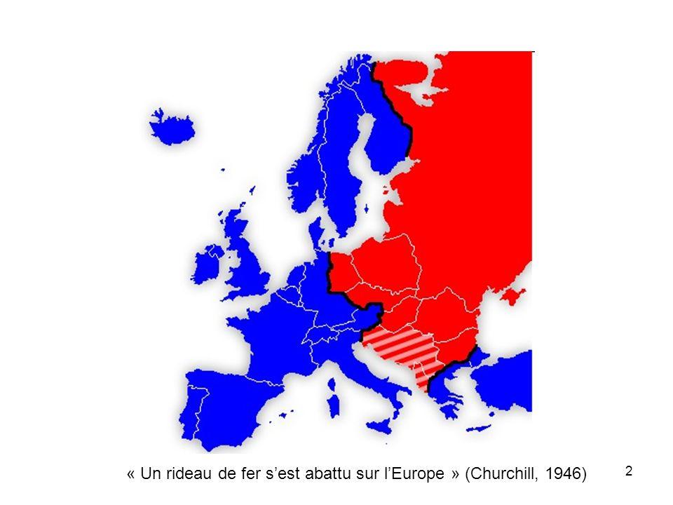 13 L'Europe : un nain diplomatique.
