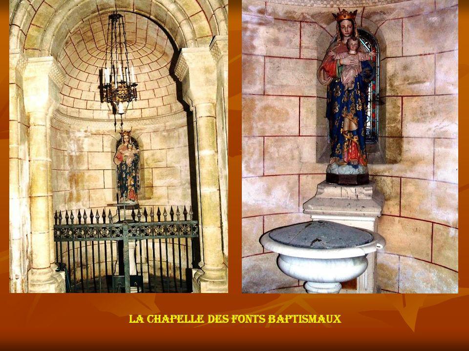 Les tableaux des transepts, après restauration