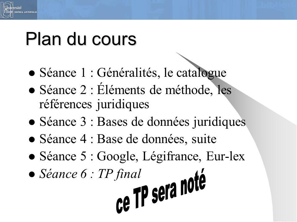 Outils  Catalogue BU  Ouvrages et bases de données juridiques  Sites officiels nationaux et européens