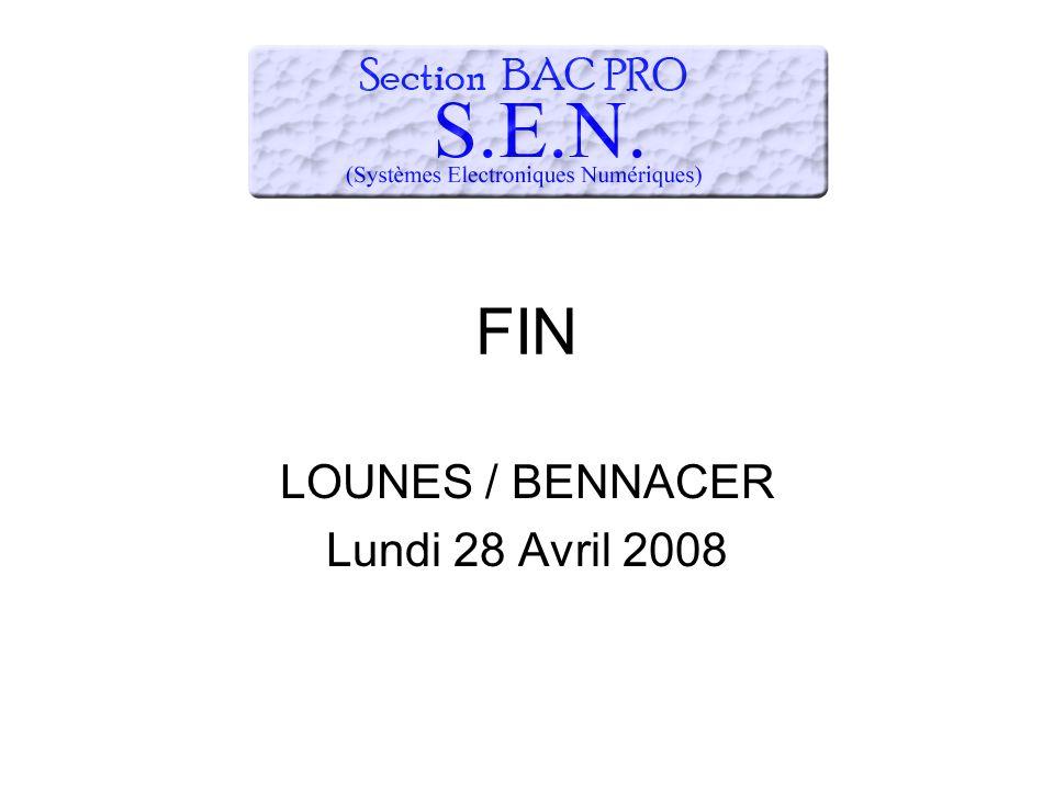 FIN LOUNES / BENNACER Lundi 28 Avril 2008