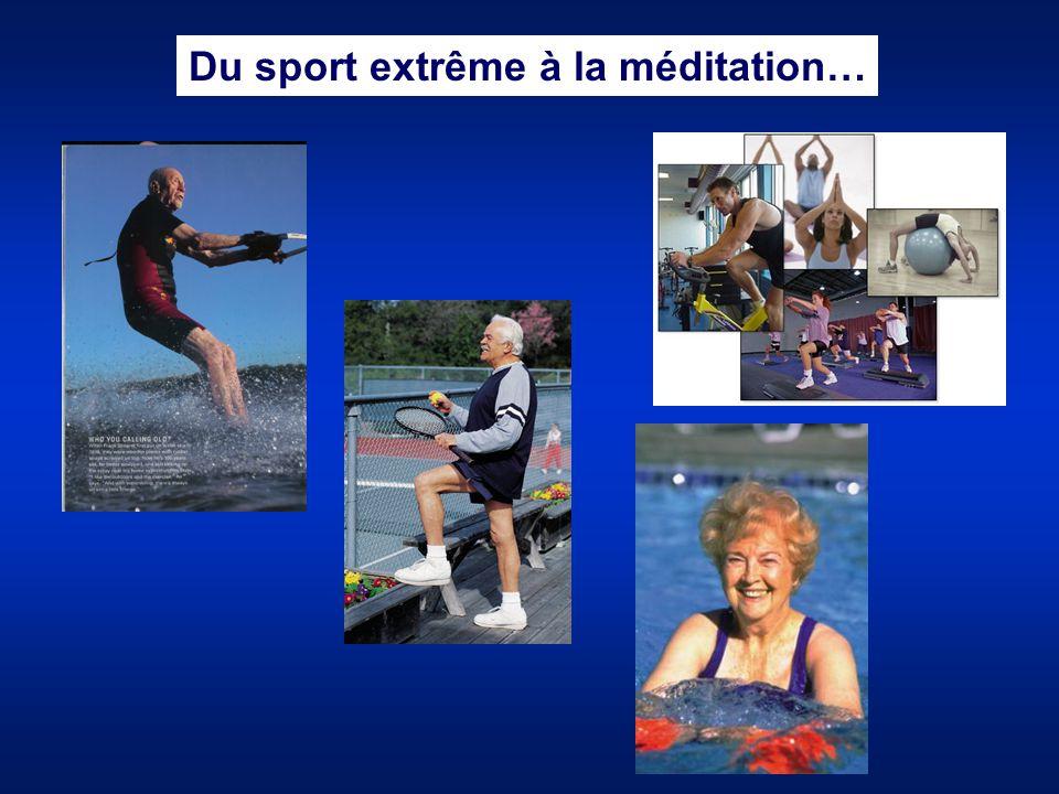 Du sport extrême à la méditation…