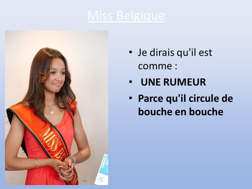 Miss Russie • Et bien chez nous, il est comme : • UNE LADA • Parce qu'il a l'air robuste mais il ne tient pas la route