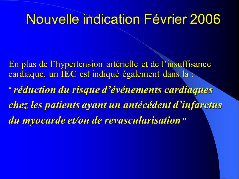 Evaluation Clinique des IEC  Tous les IEC ont-ils la même efficacité??.