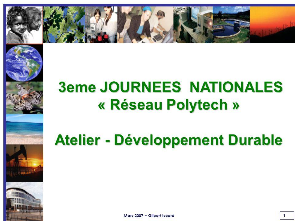 Mars 2007 – Gilbert Isoard 62 Pour cela, la Direction invite l ensemble de ses collaborateurs dans une dynamique d amélioration continue de notre système de management de la qualité, c est-à-dire de notre organisation du Réseau.
