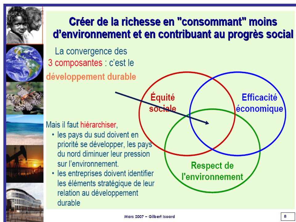 Mars 2007 – Gilbert Isoard 19 Évolution des Écoles d'Ingénieurs de nos actions