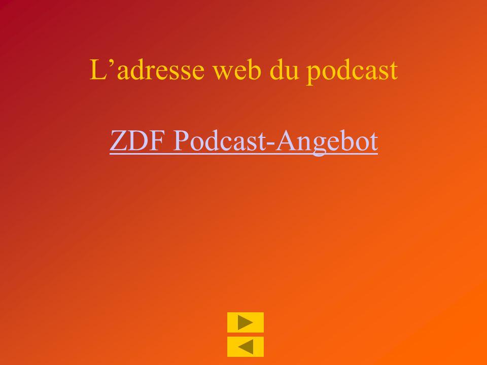 S'abonner à un podcast 1.