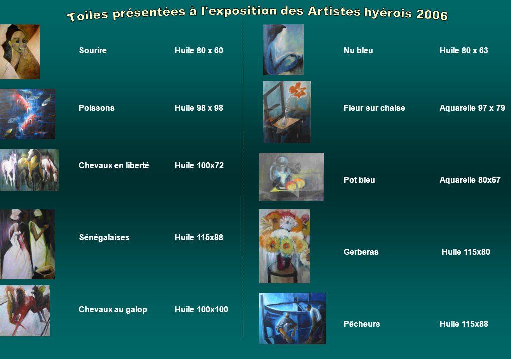 « Pierre Moreau-Siossat a travaillé dans mon atelier de peinture de la Grande Chaumière de Paris. Il m'a présenté des œuvres qui témoignaient d'une bo