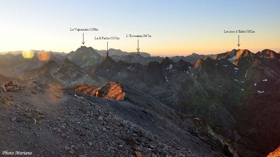 ......... Midi de Bigorre 2872m Soum de la Pène 1616m Pic Montaigu 2339m Col de Spandelles 1378m