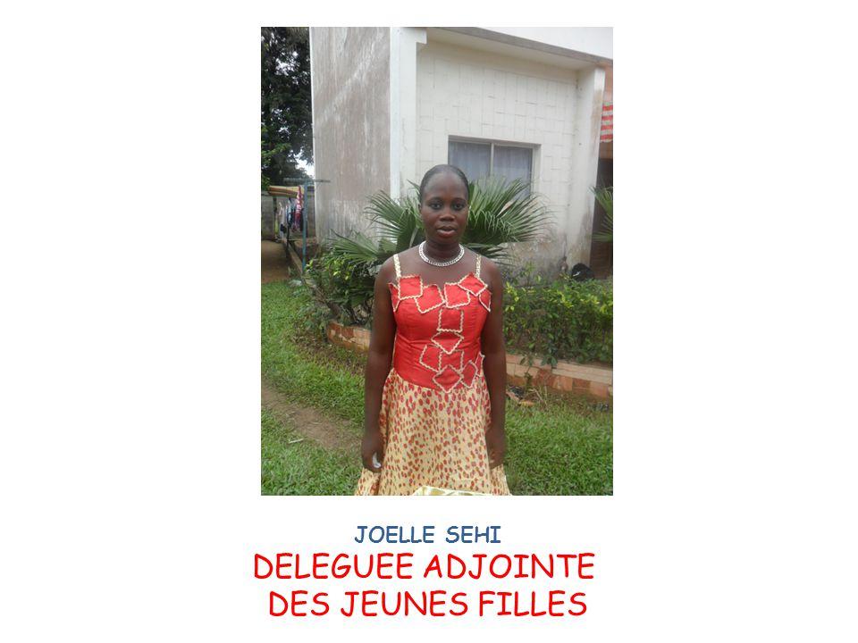 JOELLE SEHI DELEGUEE ADJOINTE DES JEUNES FILLES