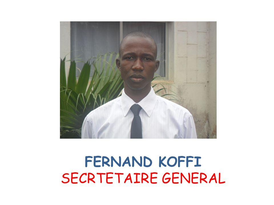 FERNAND KOFFI SECRTETAIRE GENERAL