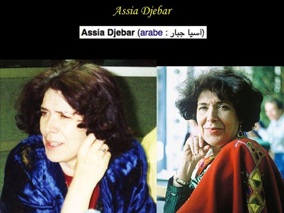 Assia Djebar Assia Djebar née Fatima-Zohra Imalhayène à Cherchel le 30 juin 1936.