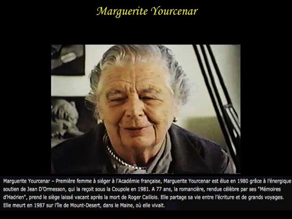 Marguerite Yourcenar Marguerite Yourcenar, née Marguerite Antoinette Jeanne Marie Ghislaine Cleenewerck de Crayencour le 8 juin 1903 à Bruxelles, morte le 17 décembre 1987 à Bangor (US).