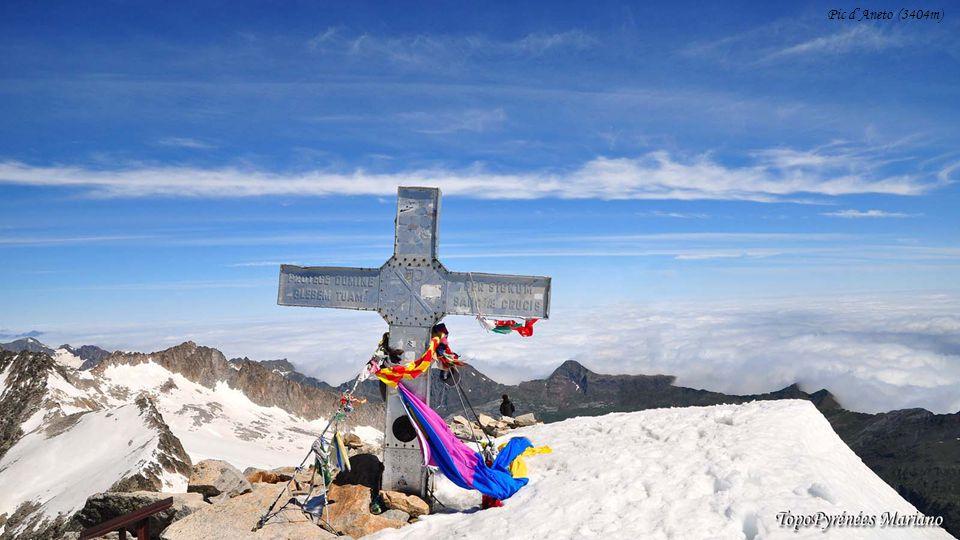........ Puig de Bastiments (2881m) Pic de Coma Mitjana (2753m)