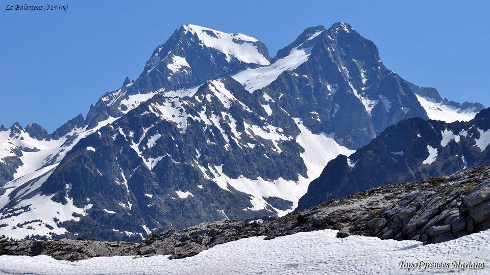 ........ Peña Telera (2764m) La Collarada (2886m) Pala de IP (2783m) Formigal