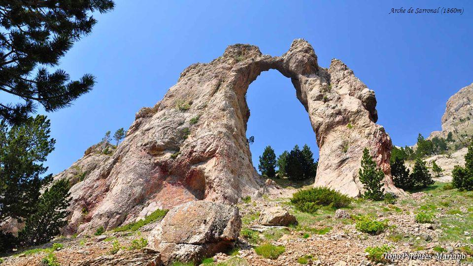 ........ Arche de Sarronal (1860m)