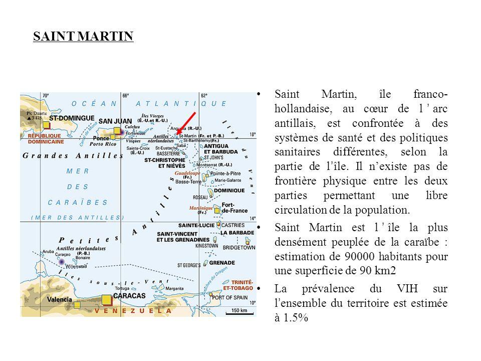 SAINT MARTIN •Saint Martin, île franco- hollandaise, au cœur de l'arc antillais, est confrontée à des systèmes de santé et des politiques sanitaires d