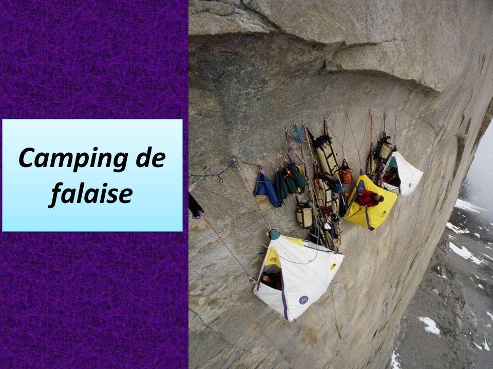 Camping de falaise