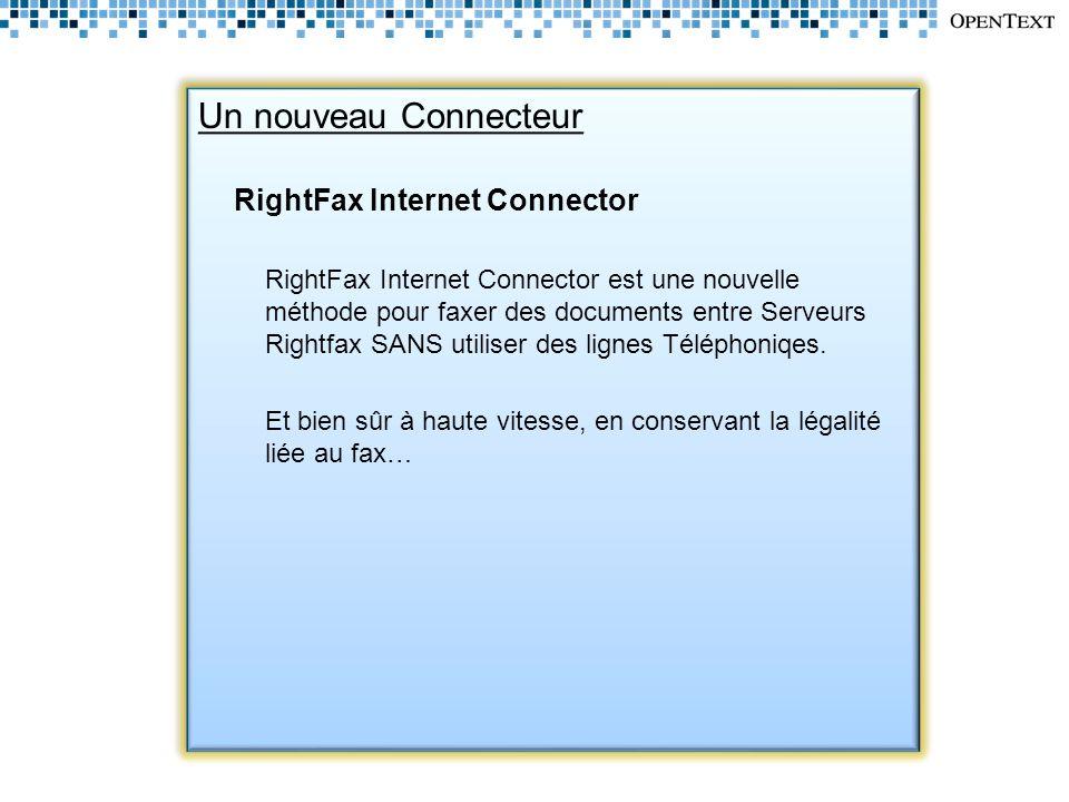 RightFax Internet Connector