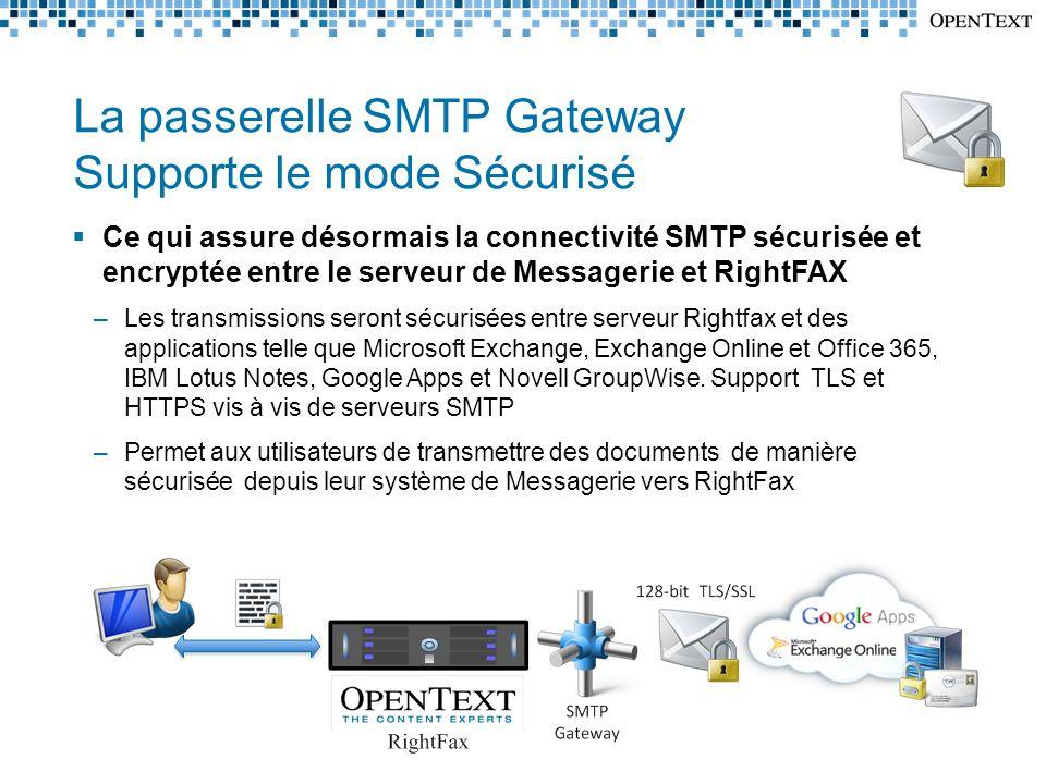 Support de Live Migration et de v-Motion  Déclaration de support pour VMware v-Motion et Microsoft Hyper-V Live Migration  N'impacte pas le modèle de Licence actuel de RightFAX  Le Support est fourni pour toute version de RightFax