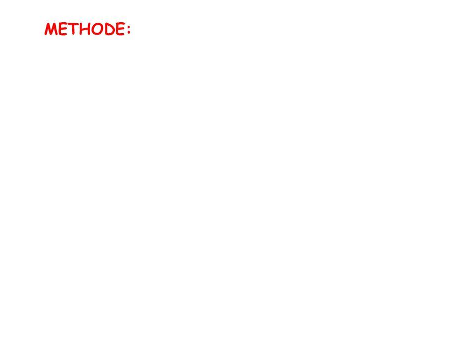 METHODE:
