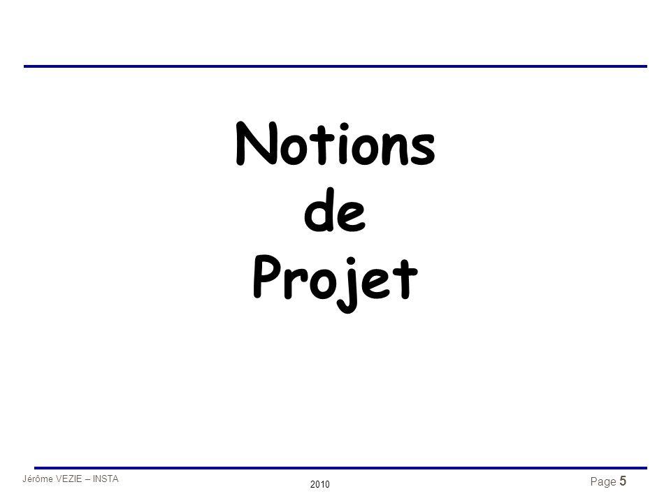 Jérôme VEZIE – INSTA 2010 Structure de management de projet  Évaluation Idée Réalisable .