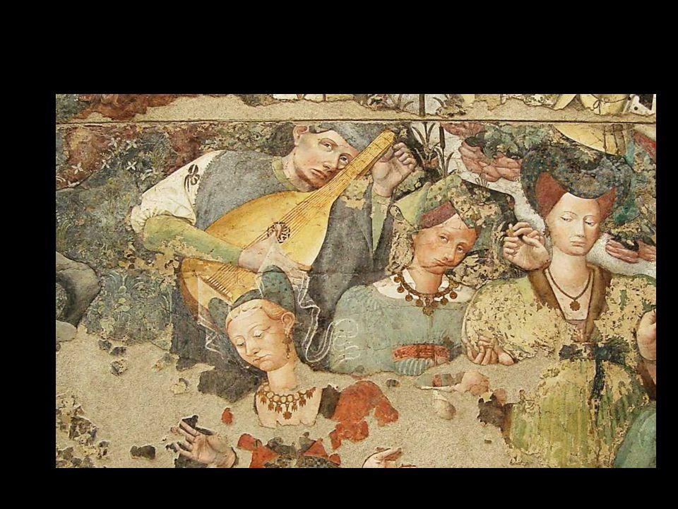 •. « Femmes de soie et de fourrure terrassées, riches transpercés, à la gorge, au cœur, invalides épargnés, musiciens en gloire ».