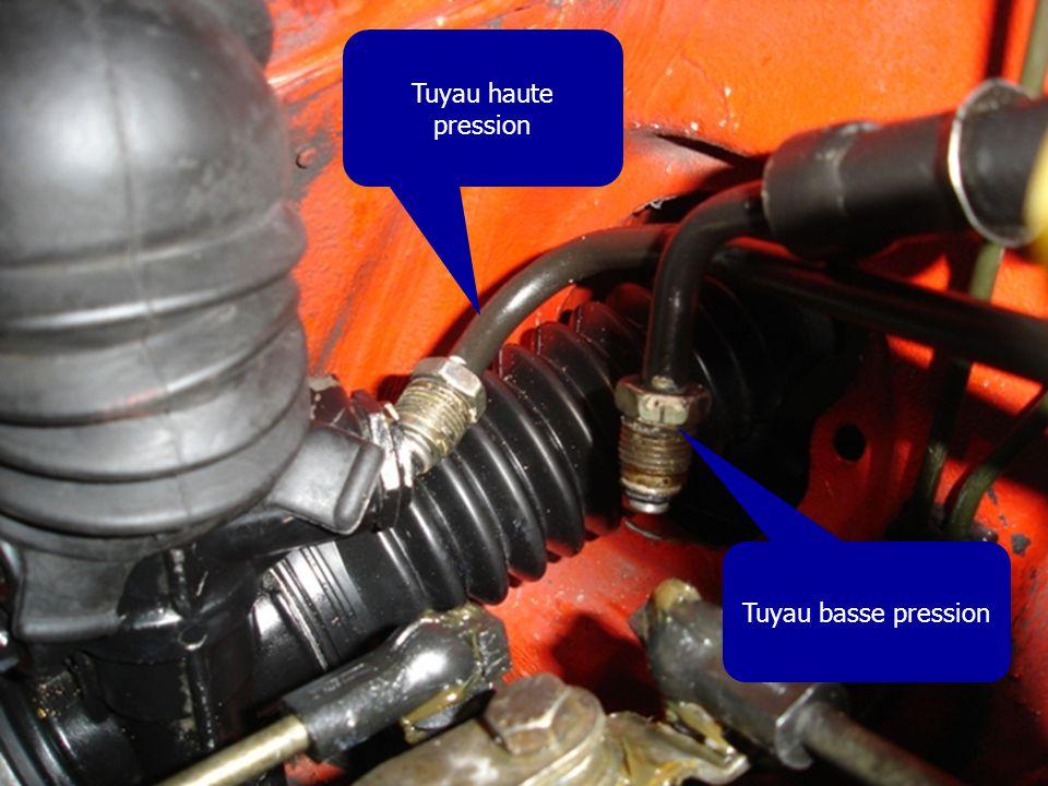 Tuyau haute pression Tuyau basse pression