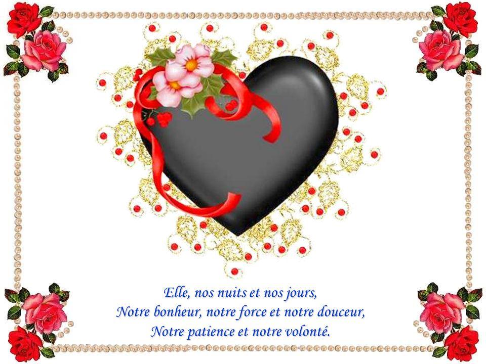Par nos pensées, nos gestes, nos actes, nos paroles, C'est Elle qui Témoigne et Vit en nous.