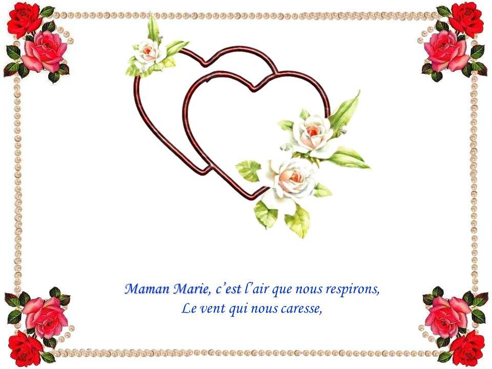 J'ai reçu de « marieJandre », alias Marie Joëlle André, ce charmant poème dont l'expression presque candide cache une foi profonde.