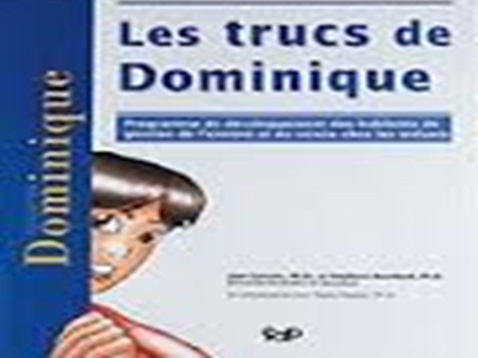  Auteurs: Jean Gervais docteur en psychoéducation;  Stéphane Bouchard psychologue;  Collaboration: Nadia Gagner Psychologue (Canal Vie);  Université du Québec en Outaouais;  Année d'édition: 2006;