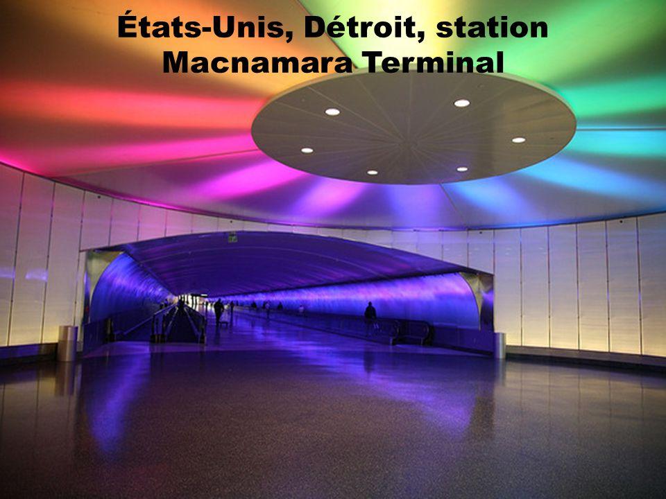 États-Unis, Chicago, station O'Hare