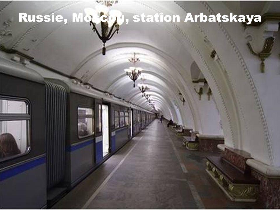 Russie, Moscou, station Ploshcad Revolyutsii