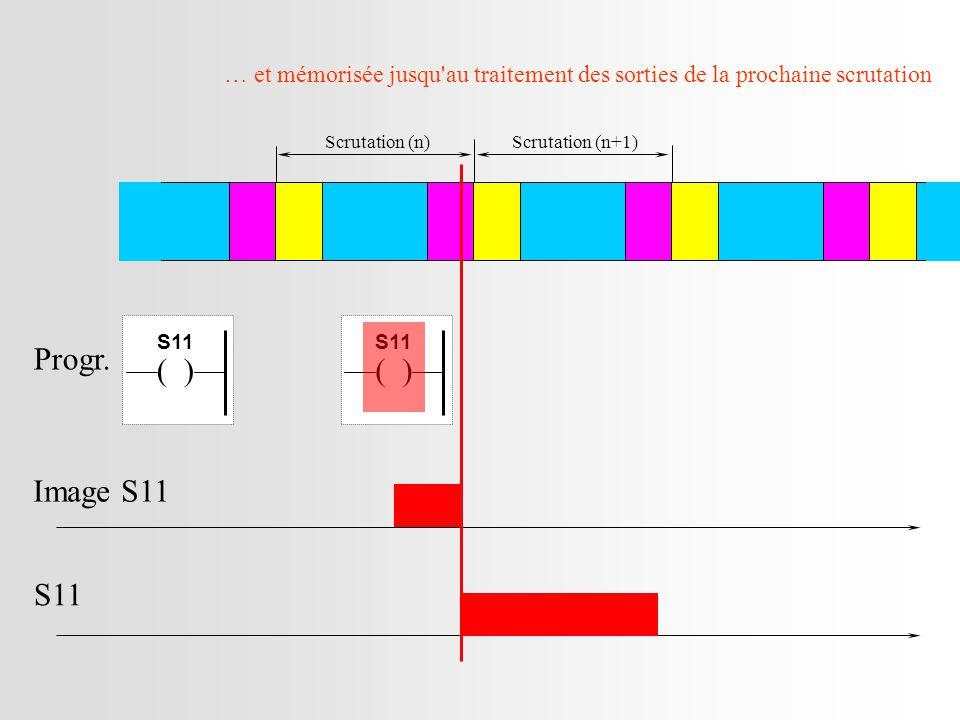 Scrutation (n)Scrutation (n+1) Image S11 S11 Progr.