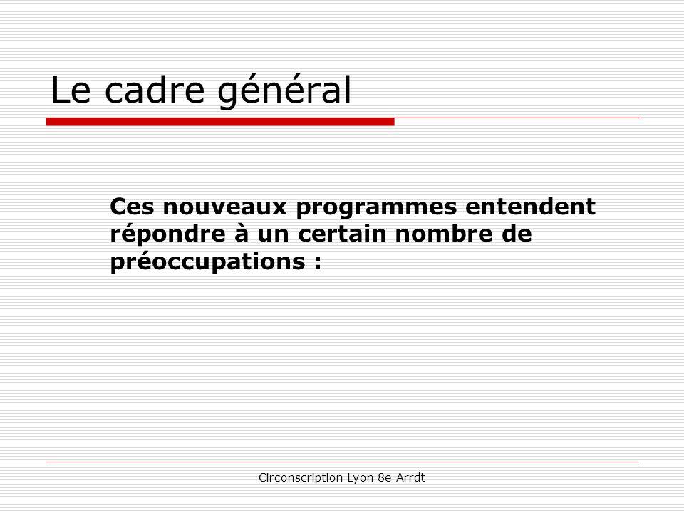 Circonscription Lyon 8e Arrdt L'école élémentaire Français de manière générale  Des finalités énoncées pour les fins de cycles considérées comme « paliers » du socle commun.