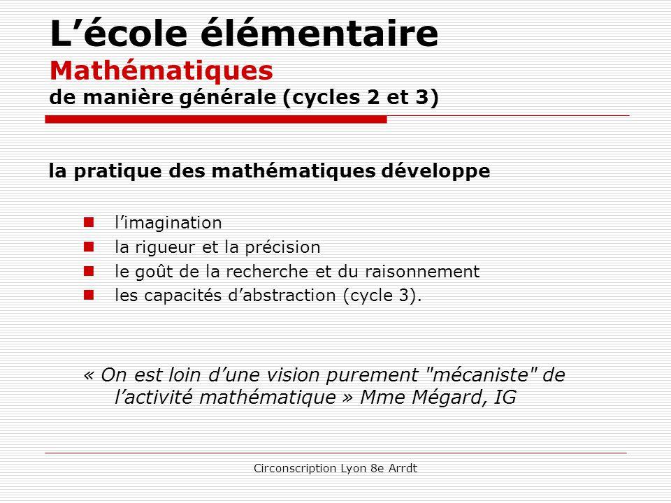 Circonscription Lyon 8e Arrdt L'école élémentaire Français – Cycle 3 (suite) Vocabulaire, orthographe, grammaire Principes communs :  séances et acti