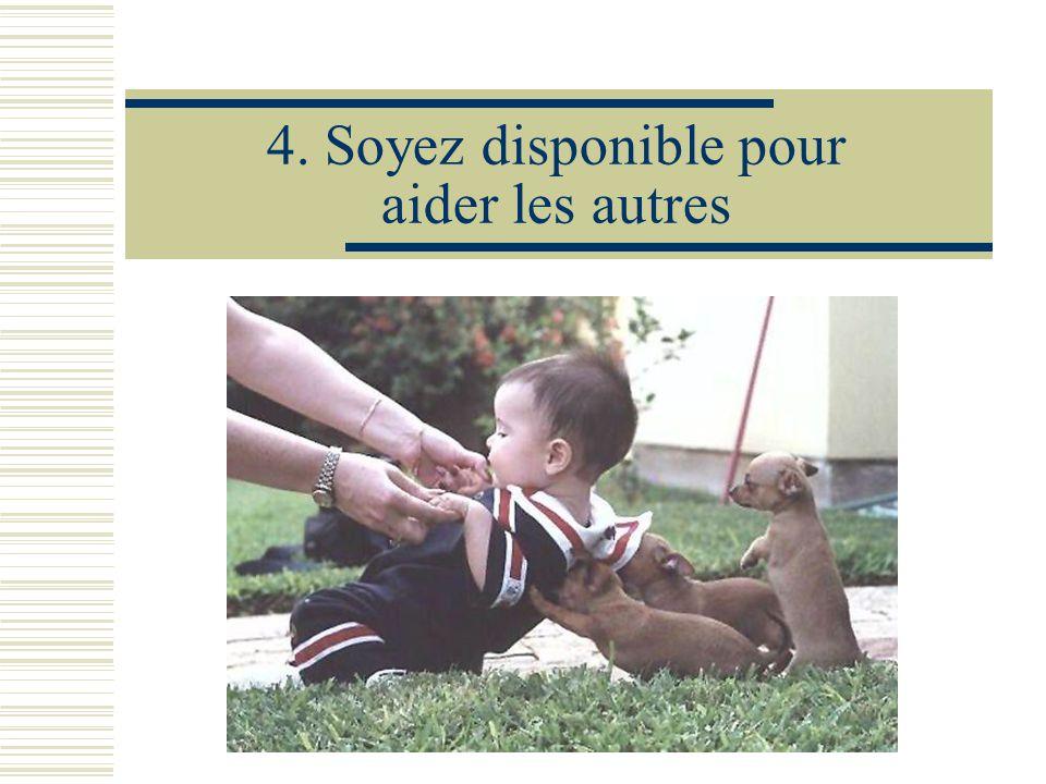 5. Gardez un coeur d'enfant