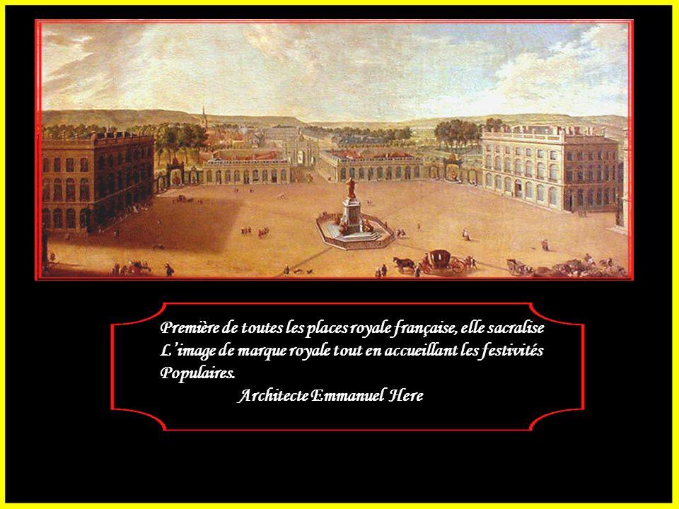 Jusqu'au milieu du XVIIème siècle, une vaste Esplanade séparait la ville-vieille et la ville-neuve de Nancy. Stanislas Leszczynski, ancien roi de Polo
